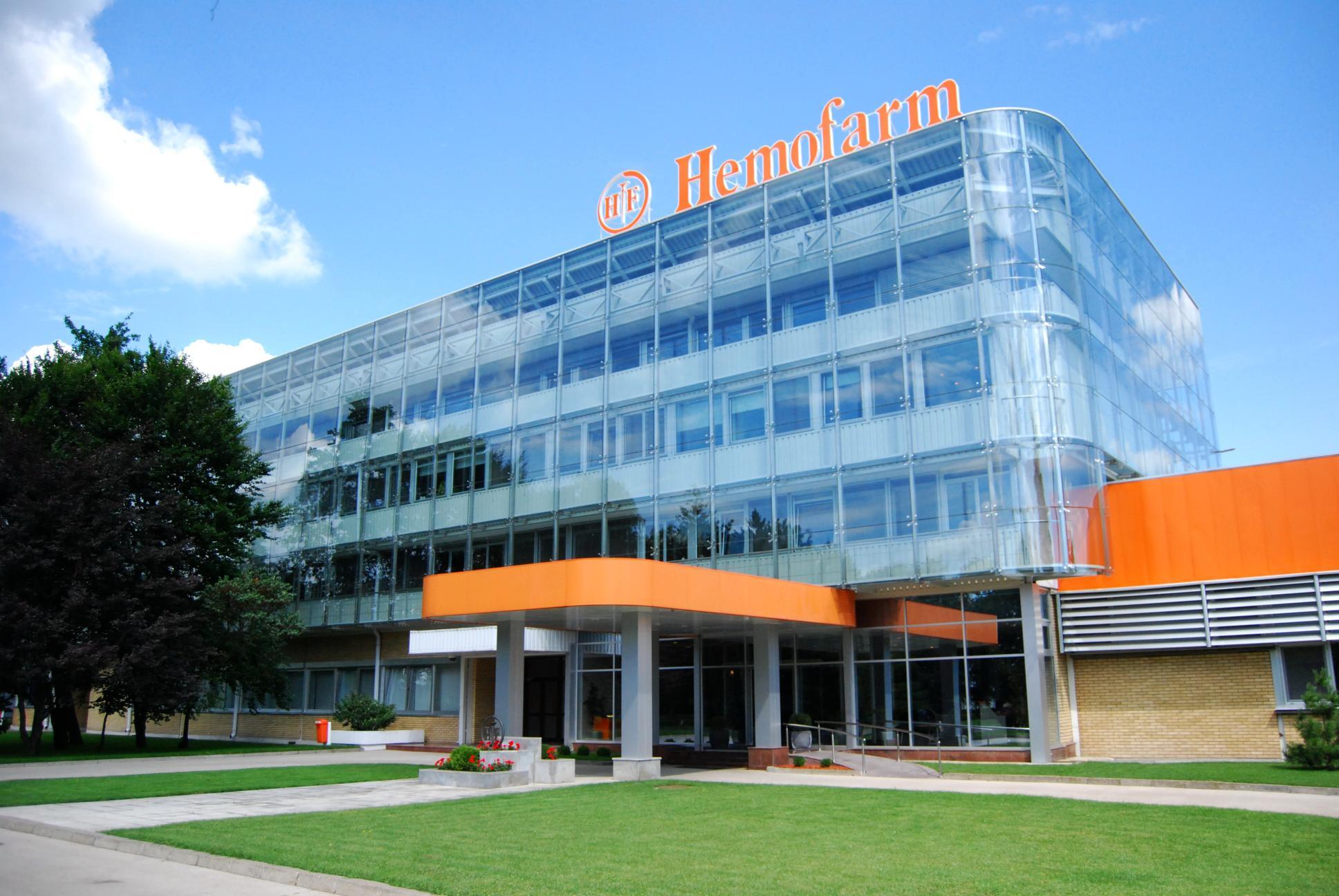 Serbia's Hemofarm opens quality control building