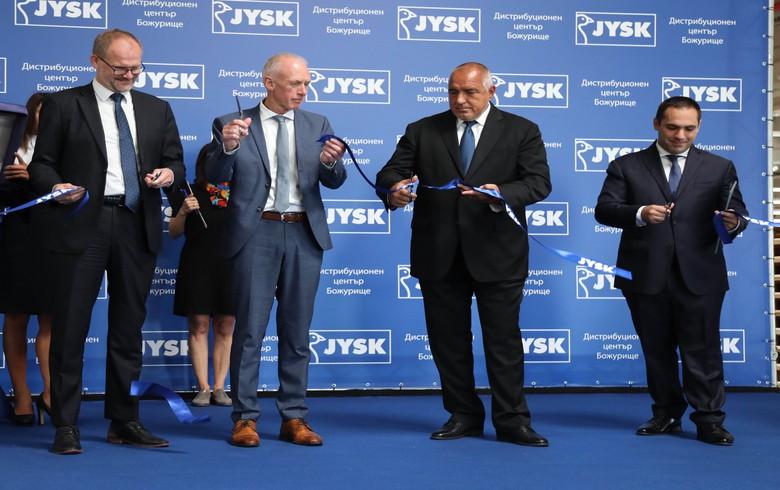 JYSK inaugurates 100 mln euro distribution centre in Bulgaria - govt