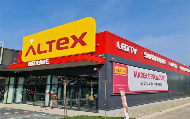罗马尼亚IT&C零售商Alex开设3毫升欧元新商店