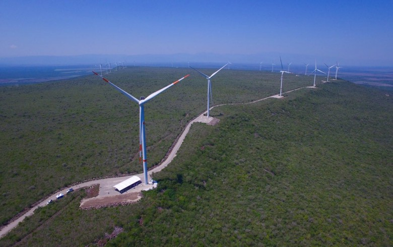 Mexico switches on 424-MW wind park