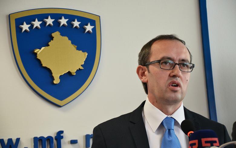 库奇辞职后,科索沃总理任命代理经济部长
