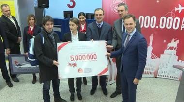 Belgrade airport handles record 5 mln passengers YTD - govt