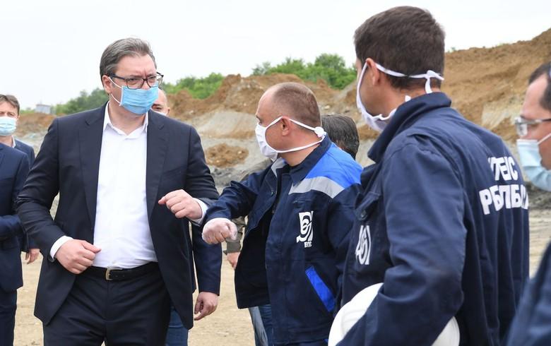 Serbia to invest 500 mln euro in Radljevo-Sever coal mine - president Vucic