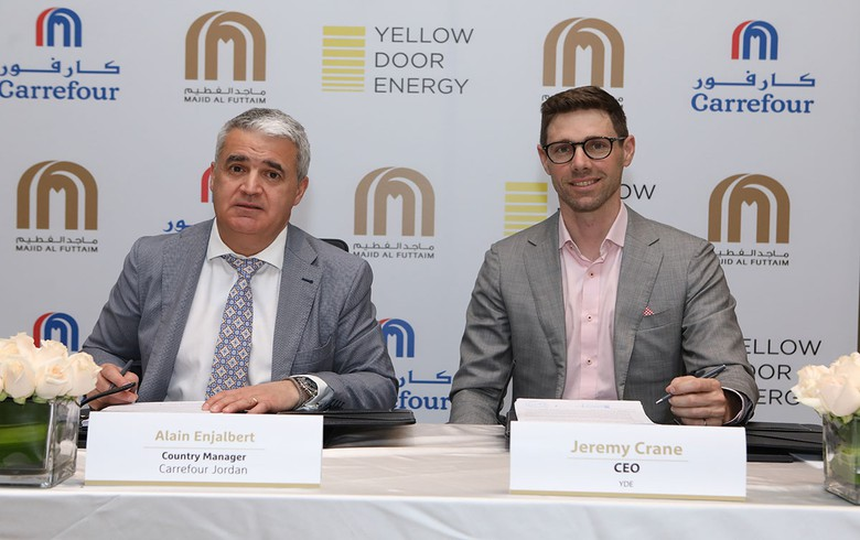 Yellow Door to build 17-MW PV park for Carrefour in Jordan