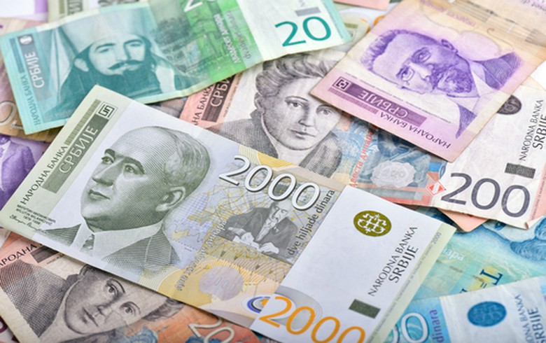 Serbia's c-bank sets limits on euro/dinar rates at currency exchange shops