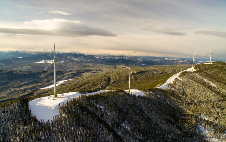 Boralex brings online 15-MW wind park in British Columbia
