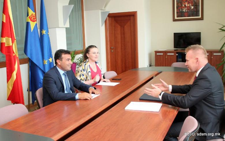 Macedonia's main opposition leader expects snap polls in Dec