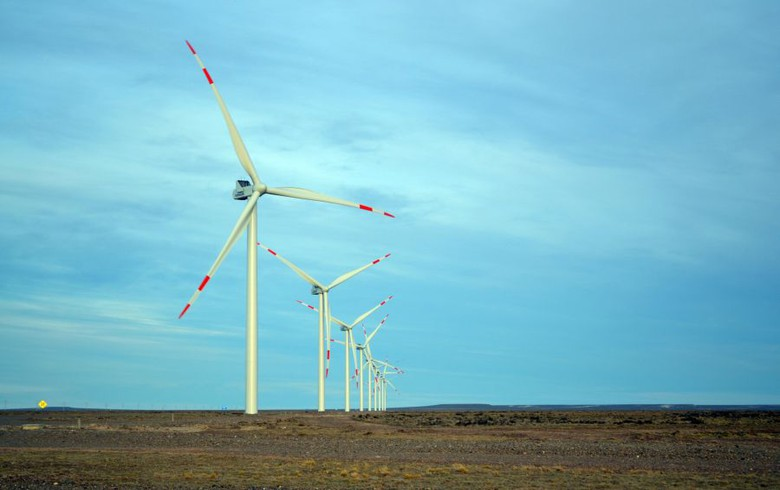 PCR switches on 120-MW wind farm in Argentina's Santa Cruz