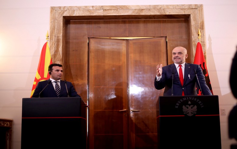 Albania, N. Macedonia to set up joint economic zone