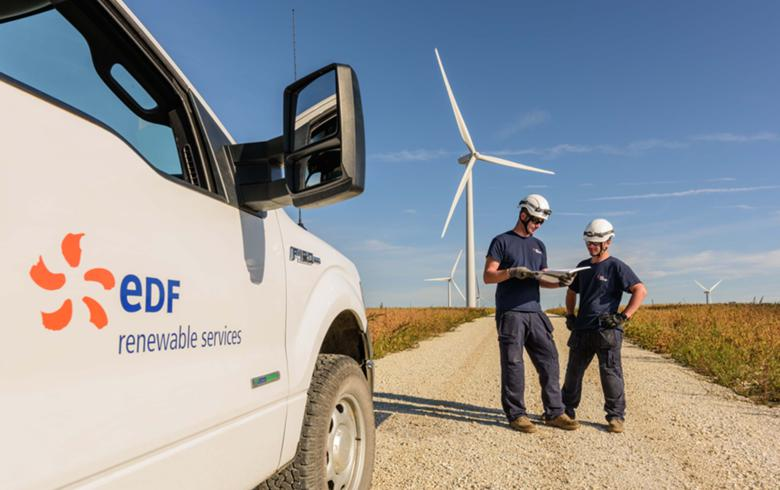 EDF picks infrastructure builder IEA for 1.35-GW US wind pipeline