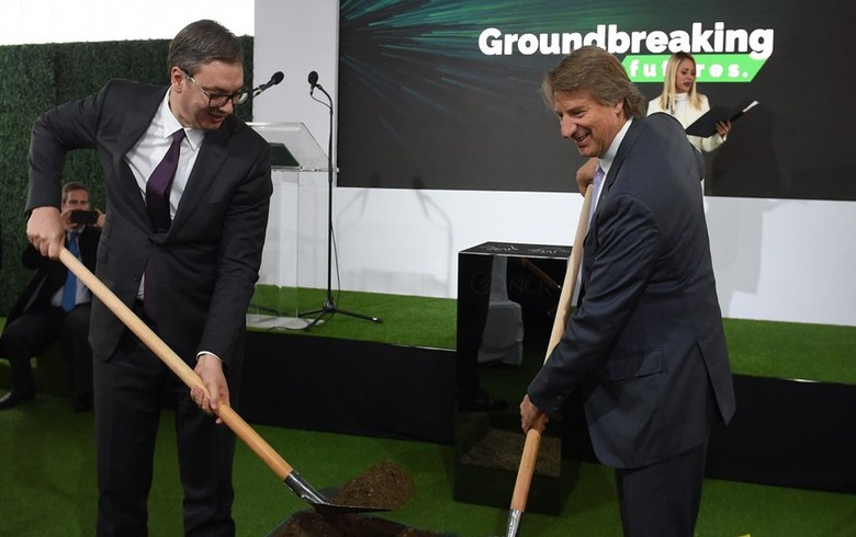 ATM producer NCR breaks ground for campus in Serbia