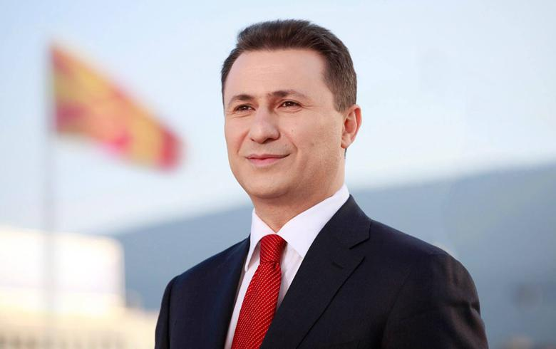 Macedonia's ex-PM Gruevski says VMRO-DPMNE will offer way out of political crisis