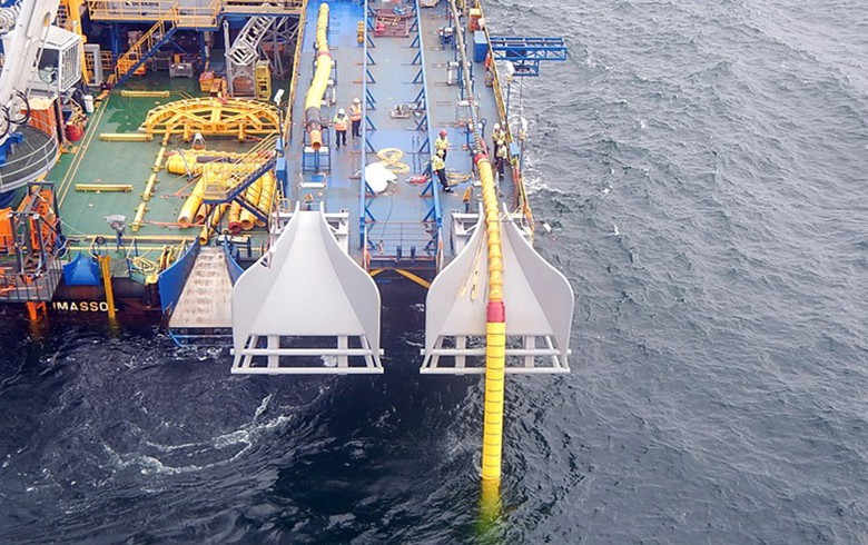 Cables in place for Denmark-Germany offshore link