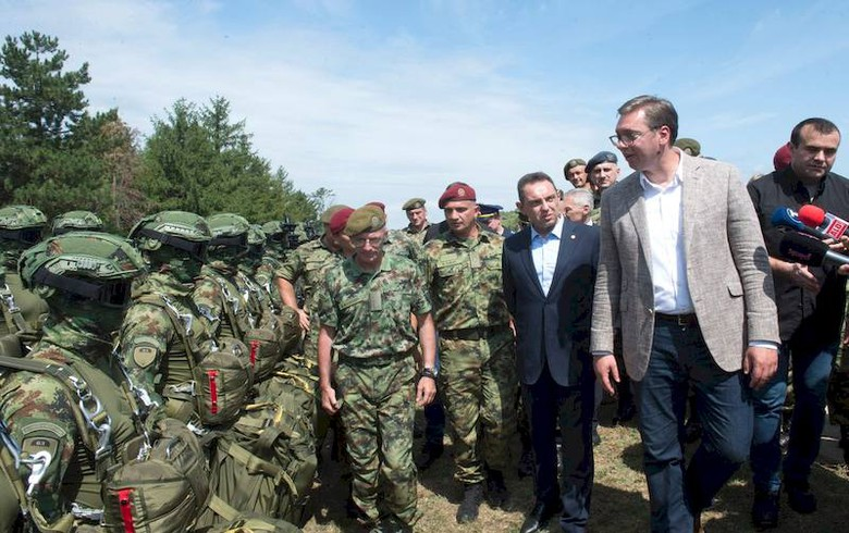 Serbia to get more combat vehicles, tanks from Russia - president Vucic