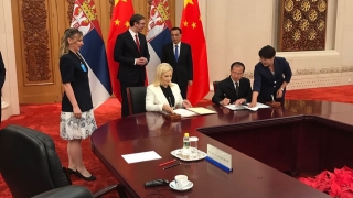China lends $300 mln to Serbia for railway overhaul project
