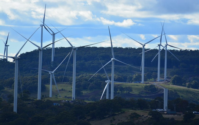 Over 4.3 GW of large renewables in Australia committed in 2017