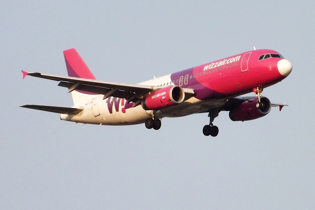 Wizz Air to increase frequencies from Bucharest, Podgorica, Skopje, Tirana to Budapest