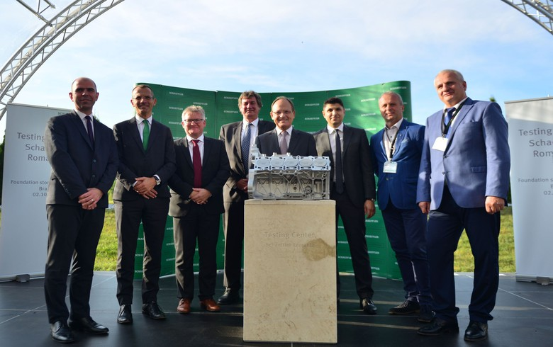 Germany's Schaeffler to open testing centre in Romania's Brasov in 2019