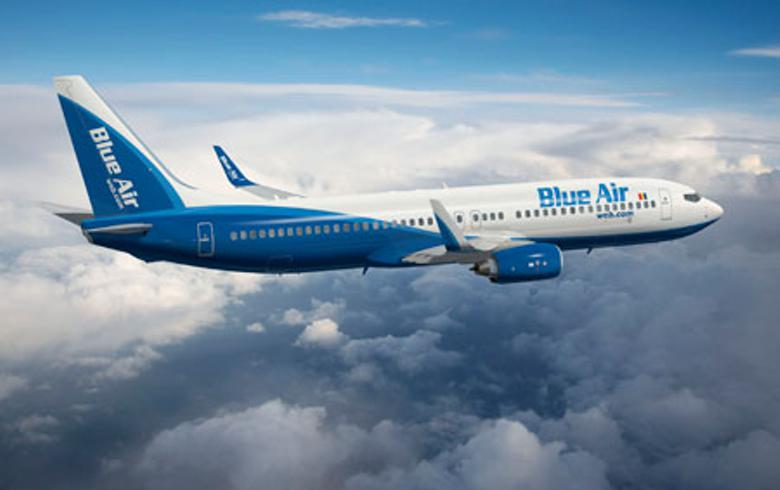 Blue Air to launch new routes from Romania's Oradea to Iasi, Italy's Turin