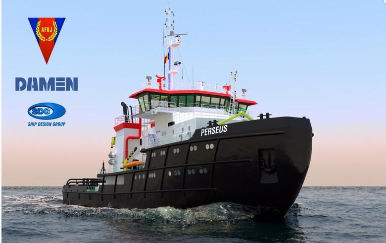 Damen Mangalia wins deal to refurbish Romania's largest icebreaker tugboat
