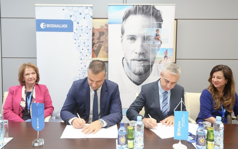 Bosnia's drug maker Bosnalijek enters partnership with Mylan