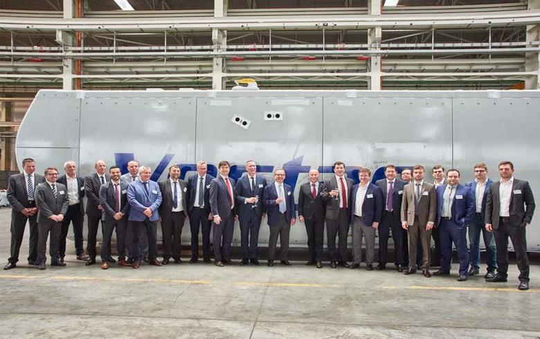 Vestas cuts ribbon on nacelle assembly line in Russia