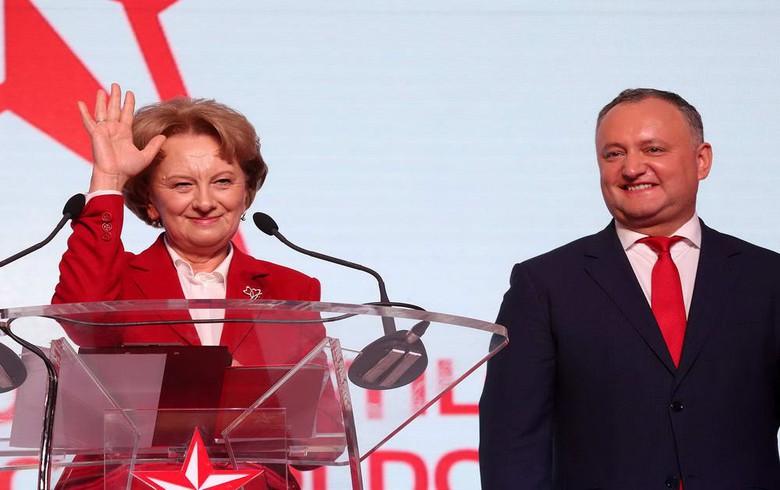 Moldova's Socialist Party elects Zinaida Greceanii as leader
