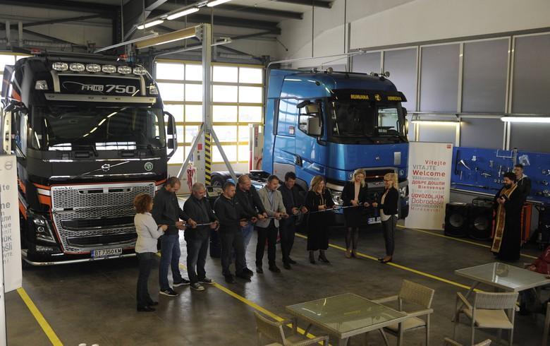 Volvo Group Bulgaria opens new service centre in Veliko Tarnovo