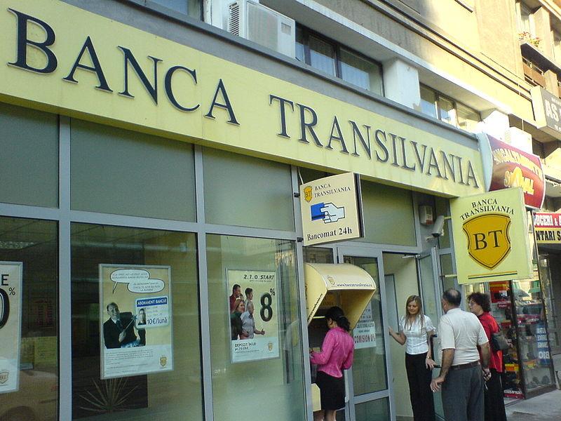 Romania's Banca Transilvania 2016 net profit halves