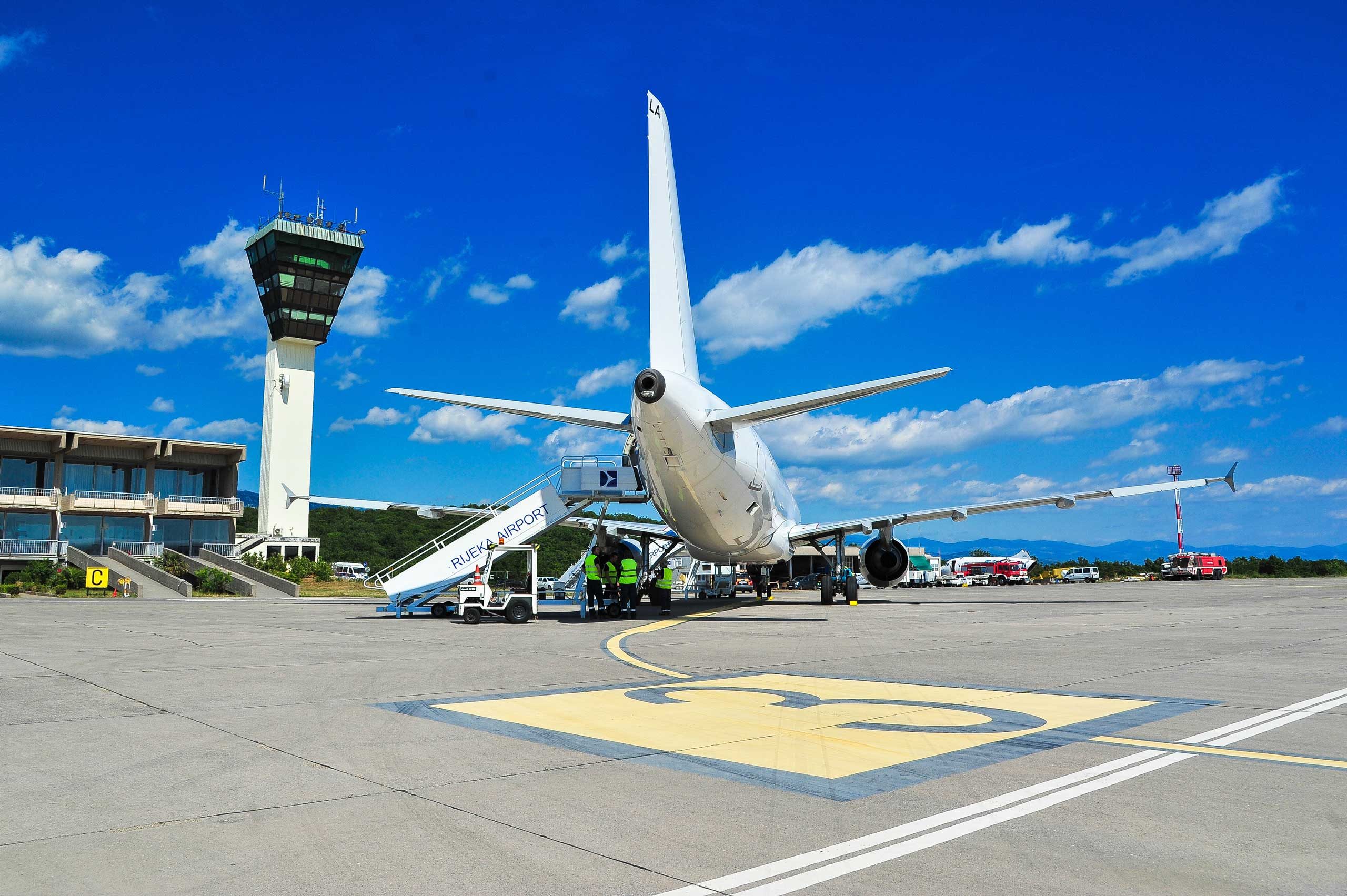 Passenger traffic at Croatia's Rijeka airport hits 7-mo record