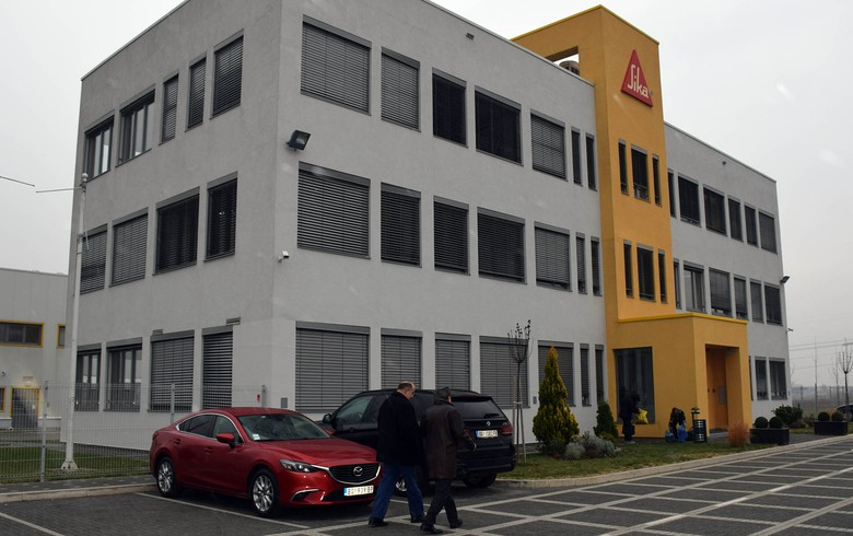 Swiss-based Sika launches new mortar production facility at plant in Serbia