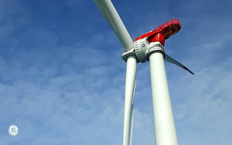First GE turbine installed at Merkur offshore wind farm