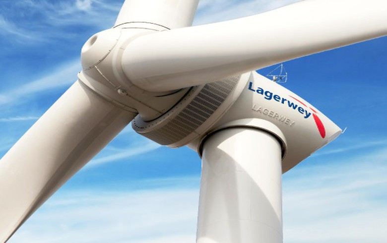 to-the-point: Lagerwey presents hydrogen wind turbine at German event