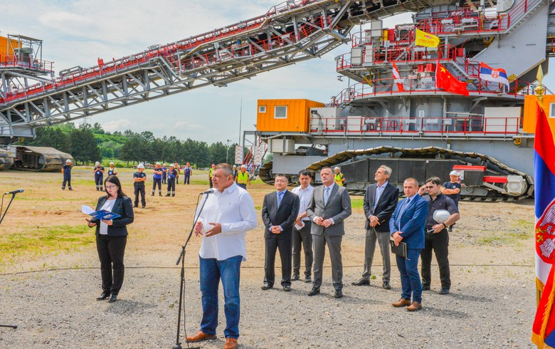 Serbia's utility EPS starts operation of ECS system in Drmno coal mine