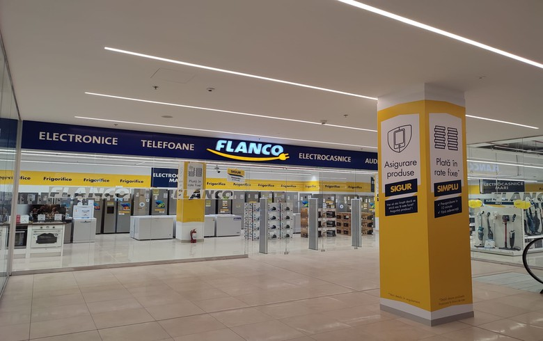 Romanian electronics retailer Flanco invests 500,000 euro in first hybrid store