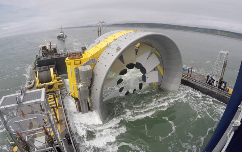 Emera abandons tidal power JV with OpenHydro