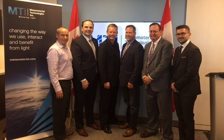 Metamaterial's PV tech for cars gets USD 4.3m from Canadian govt