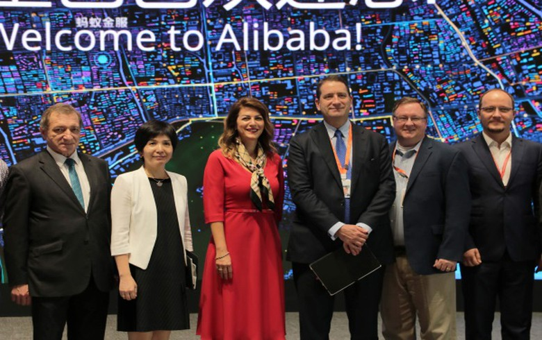 Serbia signs confidentiality agreement with China's Alibaba