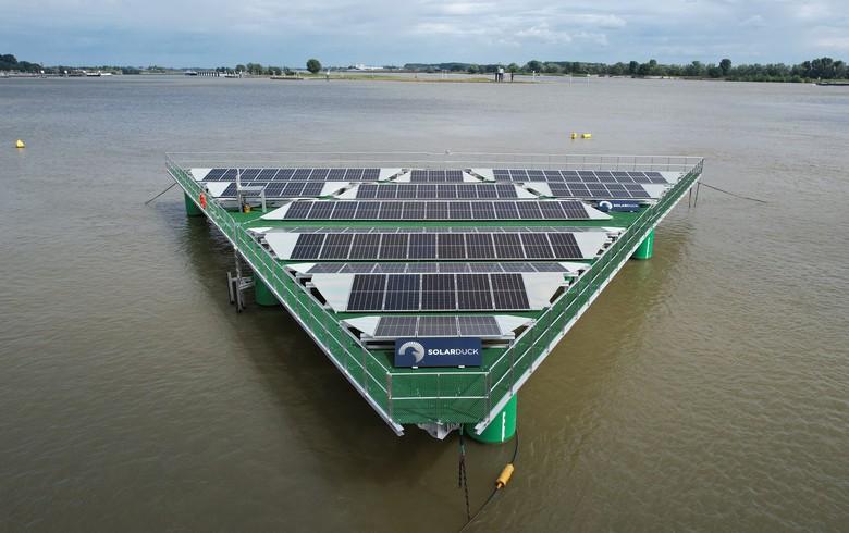 SolarDuck offshore solar technology gets AiP by Bureau Veritas