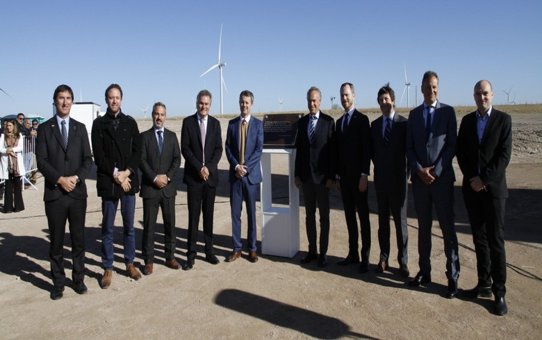 Argentina's Pampa Energia switches on 53-MW wind park