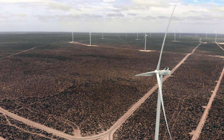 Argentina's Genneia receives first tranche funds for 38-MW wind project
