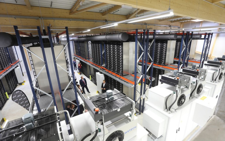 Belectric cuts ribbon on 16-MWh energy storage in Saxony