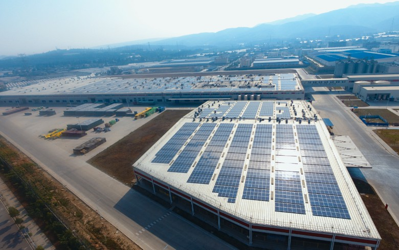 ACC brings live 2-MW solar system for AB InBev in China