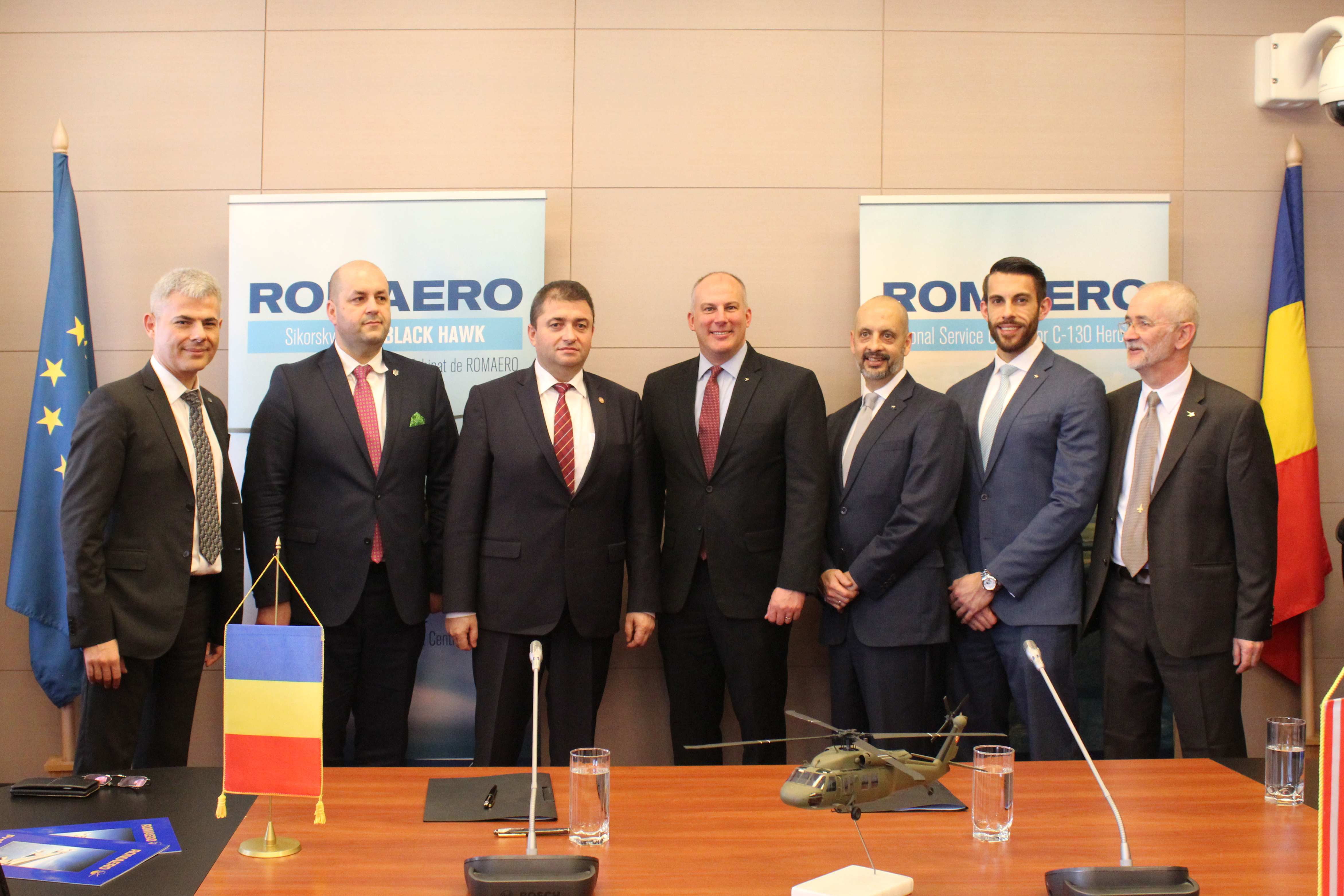 Romania to host regional equipment, maintenance center for Black Hawk helicopters