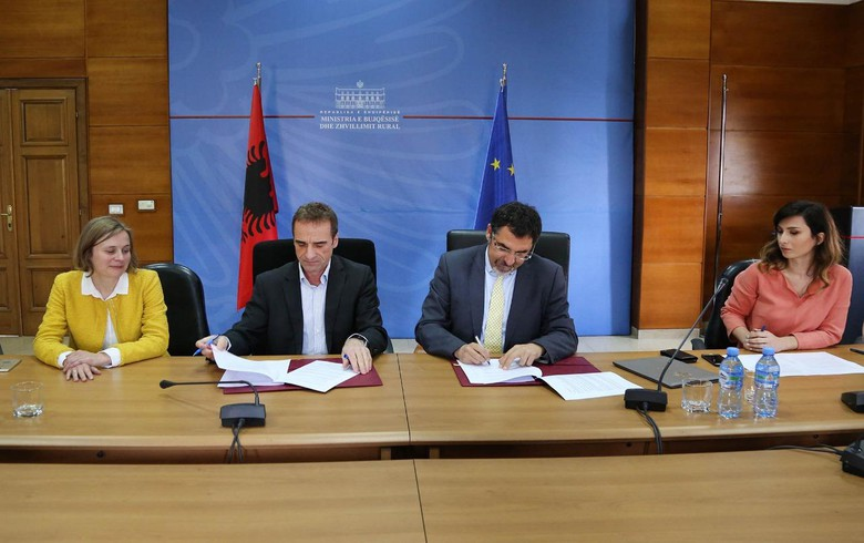 Germany to support rural development in Albania with 2 mln euro grant