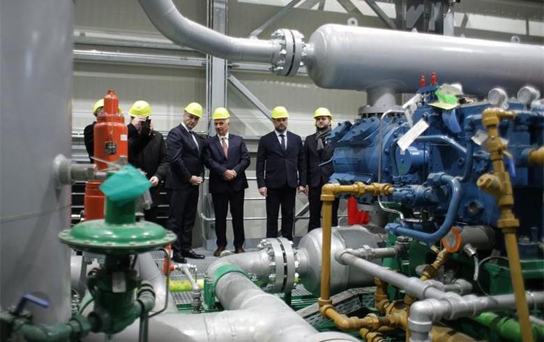 Croatia inaugurates 210 mln kuna (28 mln euro) natgas compressor station