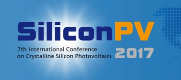 SiliconPV 2017 - 7th International Conference on Crystalline Silicon Photovoltaics