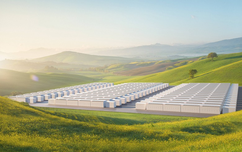 Tesla presents new battery for utility-scale projects