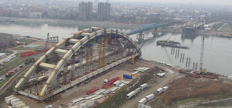 Azvi to complete construction of Serbia's Zezelj bridge on Nov 21 - govt