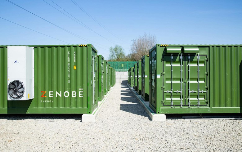UK energy storage co Zenobe gets GBP-25m cash injection
